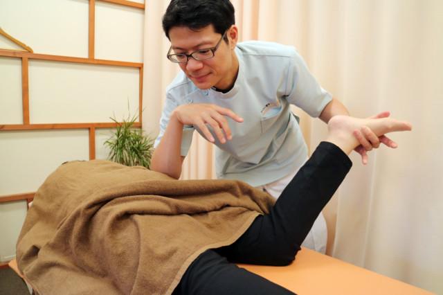 深部筋肉にトリガーポイントセラピー